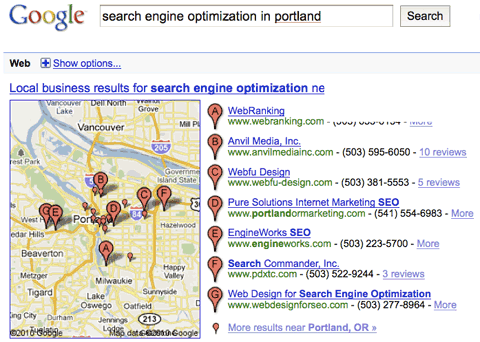Search Engine Optimization in Portland