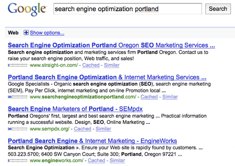 Search Engine Optimization Portland