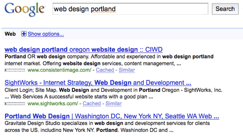 wdp Google Plot To Kill Local Search Engine Optimization and Web Design Firms