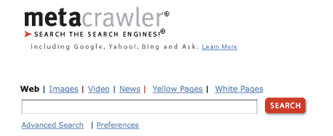 metacrawler Search Engines: The Top Ten Search Engines