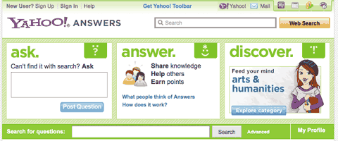 yahoo answers Search Engines: The Top Ten Search Engines